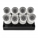 Samsung 8 Ch1080p Security System w/2TB HDD 1080p Bullet Cameras SDH-B74081 NEW