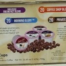 Boston's Best Coffee Roasters Variety Single Serve 80 K-Cups NEW