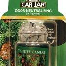YANKEE CANDLE ULTIMATE CAR JAR Air Freshener balsam & cedar