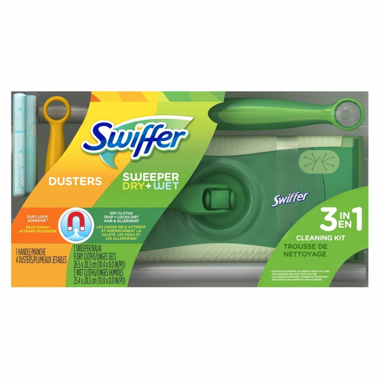Swiffer Duster 3-in-1 Starter Kit BRAND NEW
