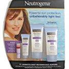 Neutrogena Ultra Sheer SPF 55 Dry-Touch Sunscreen 4-Piece Set BRAND NEW