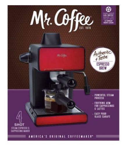 Mr. Coffee Espresso Maker, BVMC-ECM260 RED BRAND NEW