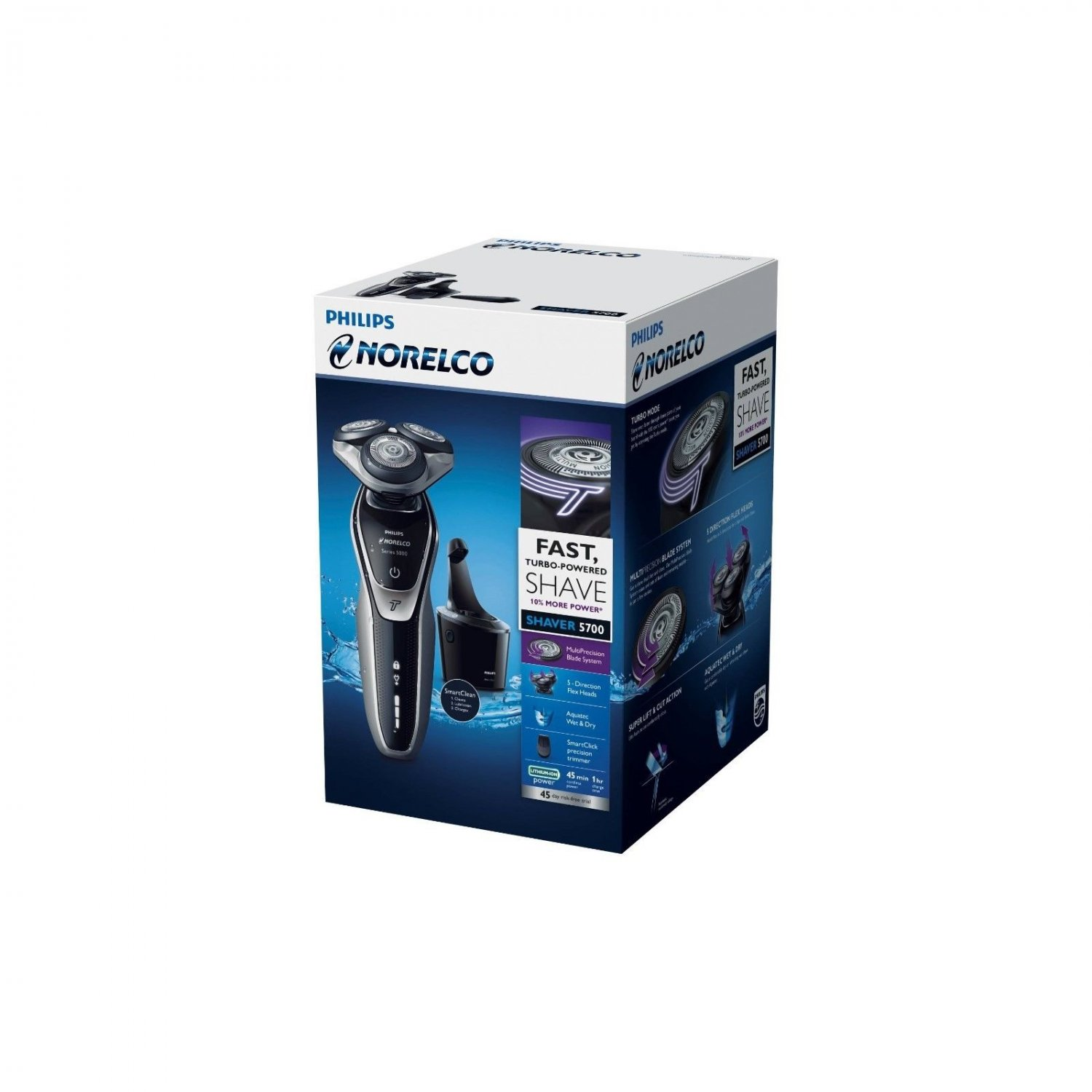 Philips Norelco Electric Shaver 5700, S5370/81 NEW