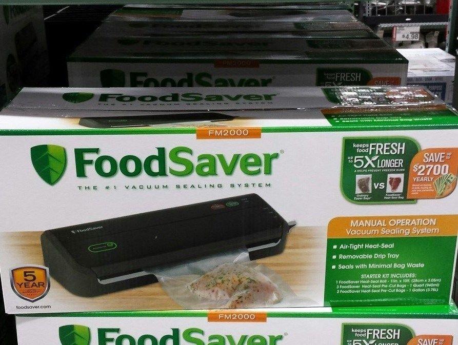Foodsaver Food Saver Vacuum Sealer Sealing System Machine Counter BRAND NEW