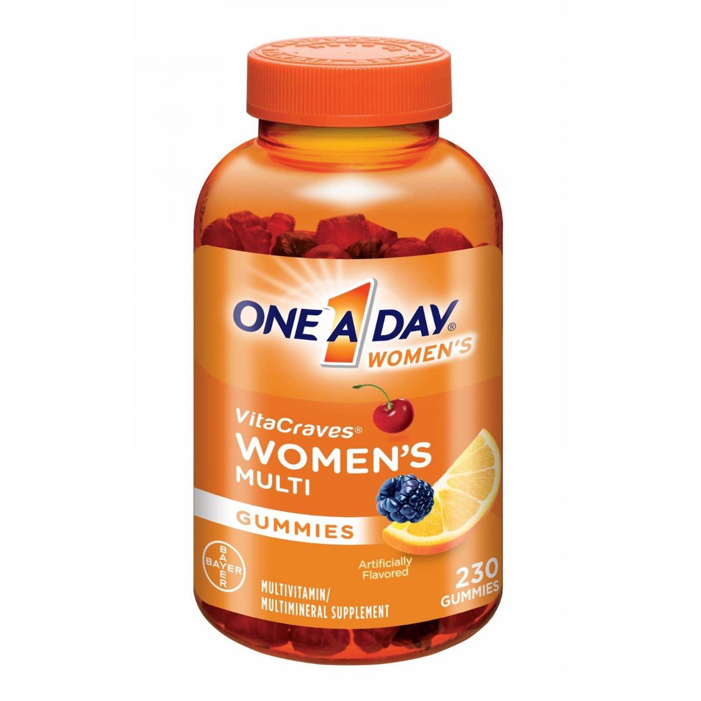 One A Day Women's VitaCraves Multivitamin Gummies, 230ct