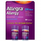 Allegra 180mg Adult 24-Hour Allergy Tablets, 90 ct
