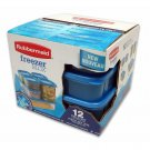 Rubbermaid FreezerBlox 12-Pc. Set Household Food Storage NEW