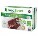 "FoodSaver Vacuum Sealing One 8"", Four 11"" Rolls & 36 Quart Size Bags Combo Pack"