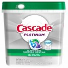 Cascade Platinum Action Pacs Dishwasher Detergent, Fresh Scent, 80 ct. NEW
