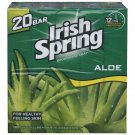 Irish Spring Aloe Bar Soap, 20 ct./3.75 oz