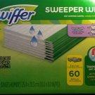 Swiffer Sweeper Wet Pad Refills, Lavender vanilla & comfort 60 ct. NEW