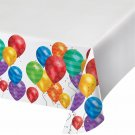 """Artstyle 54"""" x 108"""" Table Covers, 3 ct. - Balloons NEW In Package"""