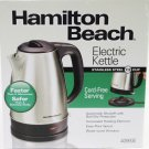 Hamilton Beach 40993E Stainless Steel 7.2 Cup Electric Kettle BRAND NEW