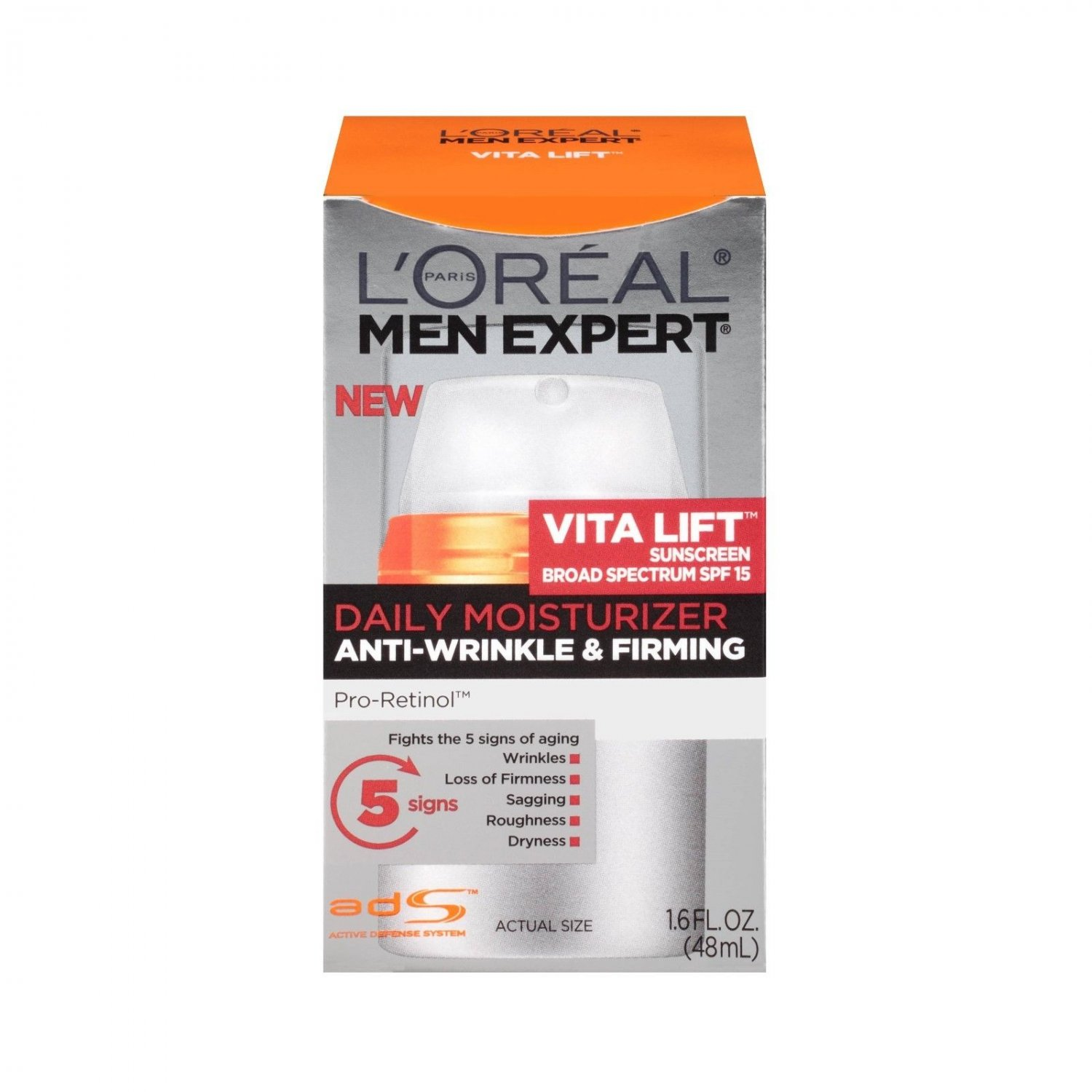 L'Oréal® Paris Men Expert® Vita Lift Daily Moisturizer with SPF 15 - 1.6 fl oz