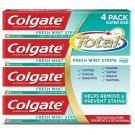 Colgate Total Fresh Stripe Toothpaste, 4 pk./7.8 oz