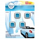 Febreze Car Vent Clips Air Freshener 2 Count NEW