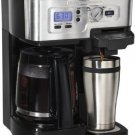 Hamilton Beach  2 Way FlexBrew Coffeemaker 49983 BRAND NEW FREE SHIPPING