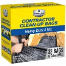 Member's Mark Commercial Contractor Clean-Up Bags (42 gal., 32 ct.)