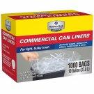 Member's Mark Commercial bulky Trash Bags 7-10 Gallon-1000 ct BRAND NEW