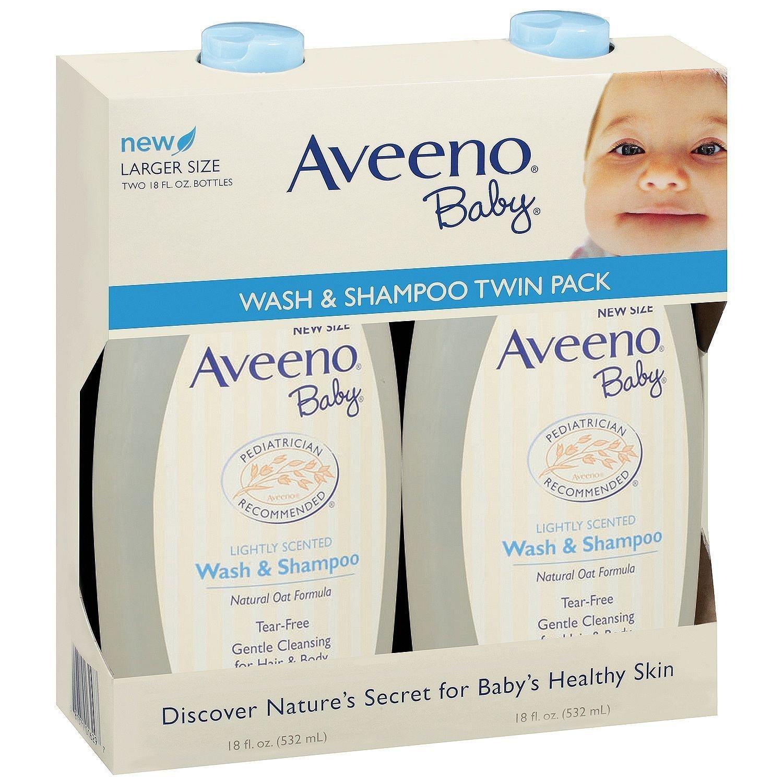 Aveeno Baby Wash & Shampoo (18 oz./2 pk.)