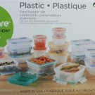 Snapware Total Solution 38-piece Plastic Food Storage Set