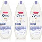 Dove Body Wash Winter Care Nourishing Moisture Advanced Formula 3Pk 24oz