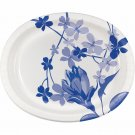 "Artstyle 10"" x 12"" Dinner Platters, 35 ct. - Blue Flower"