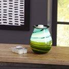 Better Homes and Gardens Marina Art Glass Wax Warmer BRAND NEW