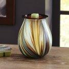 Better Homes And Gardens Mystify Art Glass Wax Warmer BRAND NEW