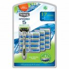 Schick Hydro 5 Sensitive Razor with 17 Cartridges BRAND NEW