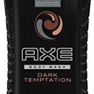 AXE Body Wash, Dark Temptation 16 Oz NEW