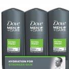 Dove Men+Care Body And Face Wash, Extra Fresh (18 Oz., 3 Pk.)Dove NEW