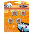 FEBREZE Car Vent Clips 2 ml Air Freshener 4 Count BRAND NEW