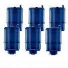 PUR Faucet Mount Replacement Filters, 6-Pk BRAND NEW FREE SHIPPING
