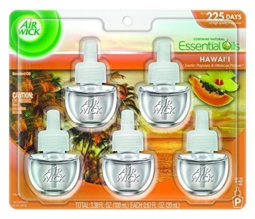 Air Wick Scented Oil Refills 5 PACK Your Choice of Scent to choose from
