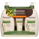 Aveeno Daily Moisturizing Lotion (18 Fl. Oz., 2 Pk. With 2.5 Oz. Tube) NEW