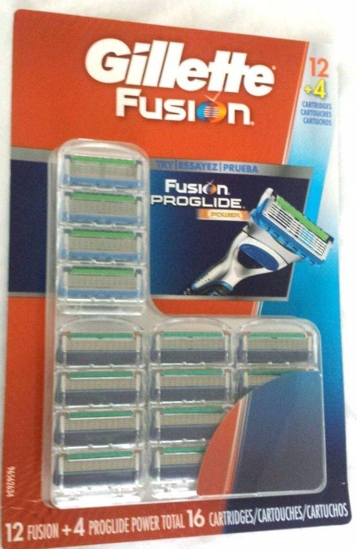 Gillette Fusion Cartridges, 16 ct NEW