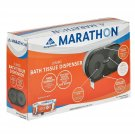 Marathon Jumbo Bath Tissue Dispenser, 6,000 Sheet Capacity (Smoke) BRAND NEW