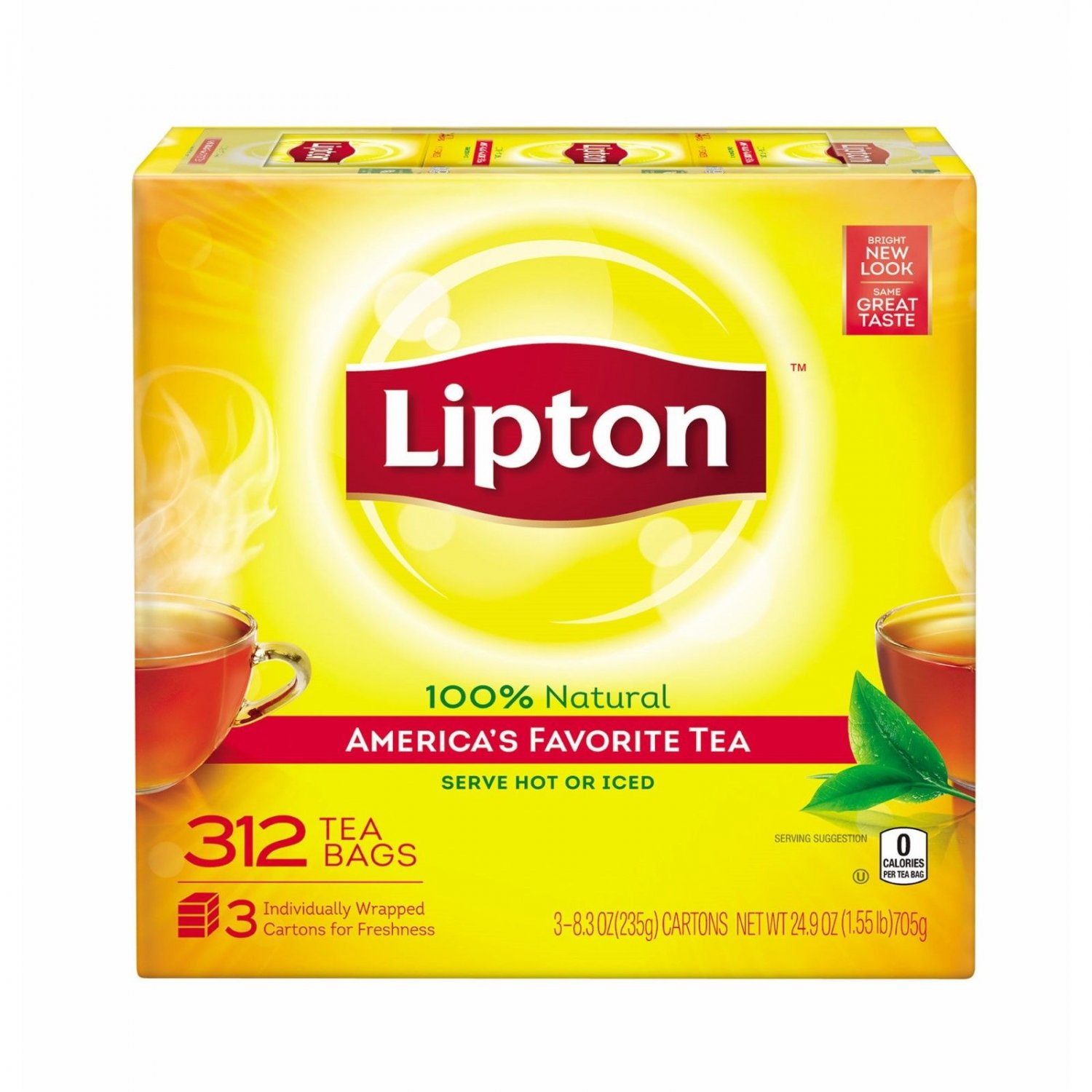 Lipton Tea Bags, 312 ct BRAND NEW
