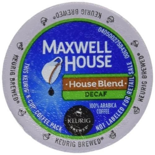 """Maxwell House """"House Blend Decaf Coffee"""" 84 Count Keurig K-Cups BRAND NEW"""