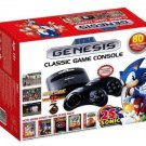 Plug & Play Sega Genesis Classic Game Console w/ 80 Built-In Games NEW
