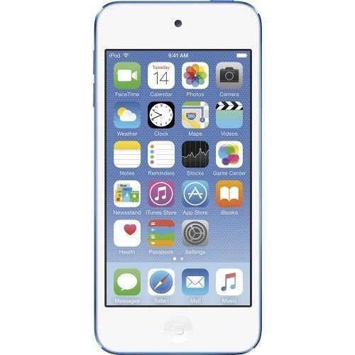 Apple iPod touch 16GB 6th Generation Blue (Latest Model) MKH22LL/A BRAND NEW