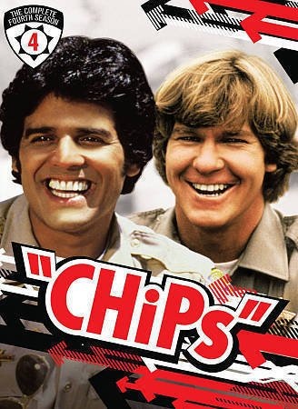 CHiPs The Complete Fourth Season 4 DVD - 5 Discs Forth Season BRAND NEW
