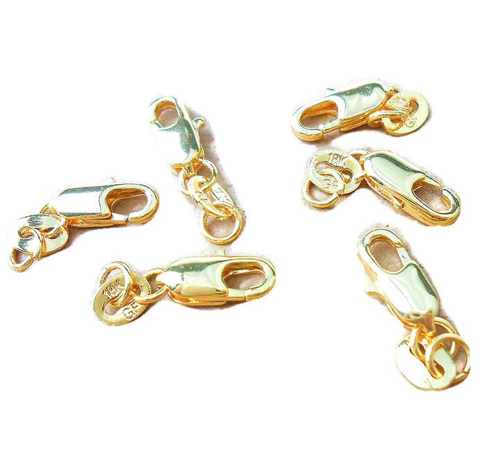 10 mm 18ct Gold Clasp