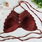 ST008 Crochet Bikini top, DIY Bikini, Handmade Bikini top - FREE SHIPPING