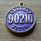 Beverly Hills 90210 Purple Charm Pendant