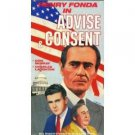 Advise and Consent [VHS]