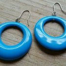 Aqua Blue Teal Earrings
