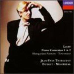 Liszt: piano Concertos Nos. 1 & 2; Hungarian Fantasy; Totentanz / Thibaudet