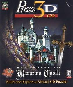 Puzz3D CD: Neuschwanstein Bavarian Castle